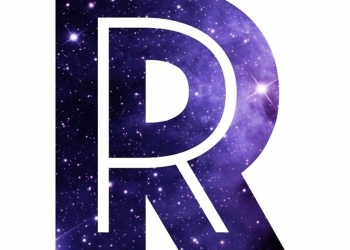 "The Letter R - Space"" Laptop Sleevesmike Gallard 