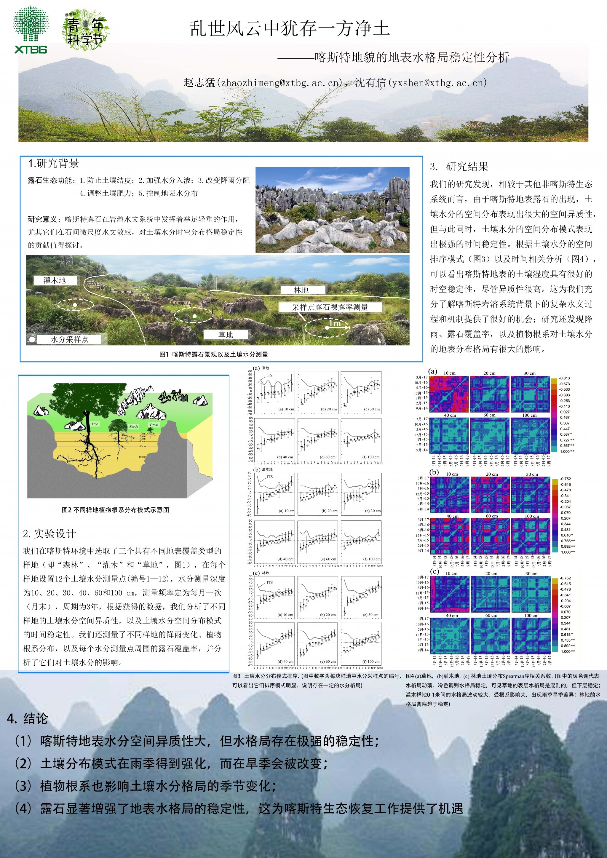 乱世风云中犹存一方净土-喀斯特地貌的地表水格局稳定性分析(作者:赵志猛)