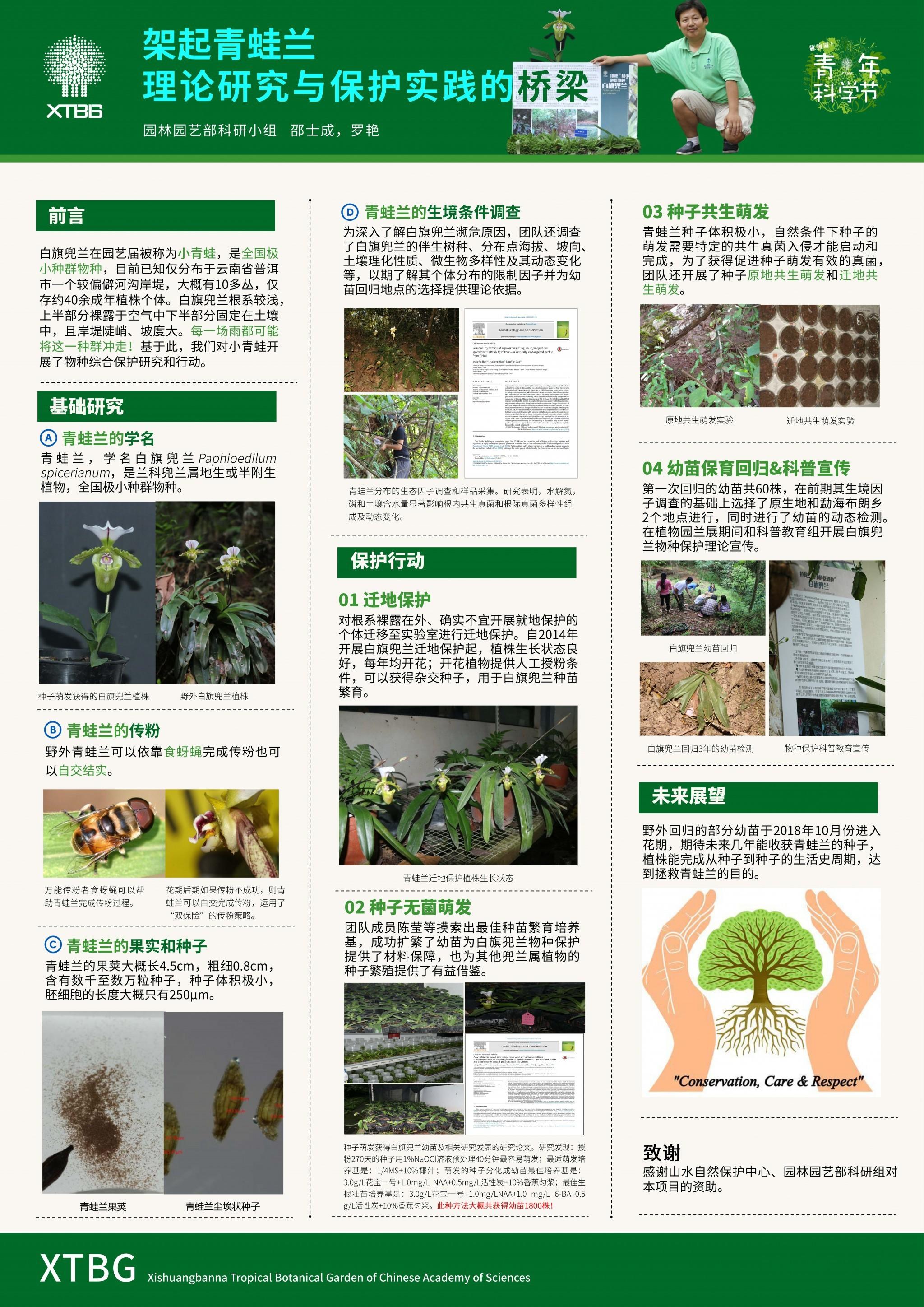 架起青蛙兰-理论研究与保护实践的桥梁(作者:邵士成&罗艳)
