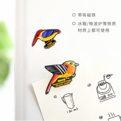 热带鸟类冰箱贴
