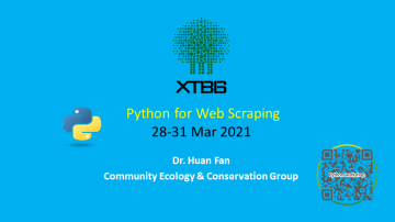Python for Web Scraping notice