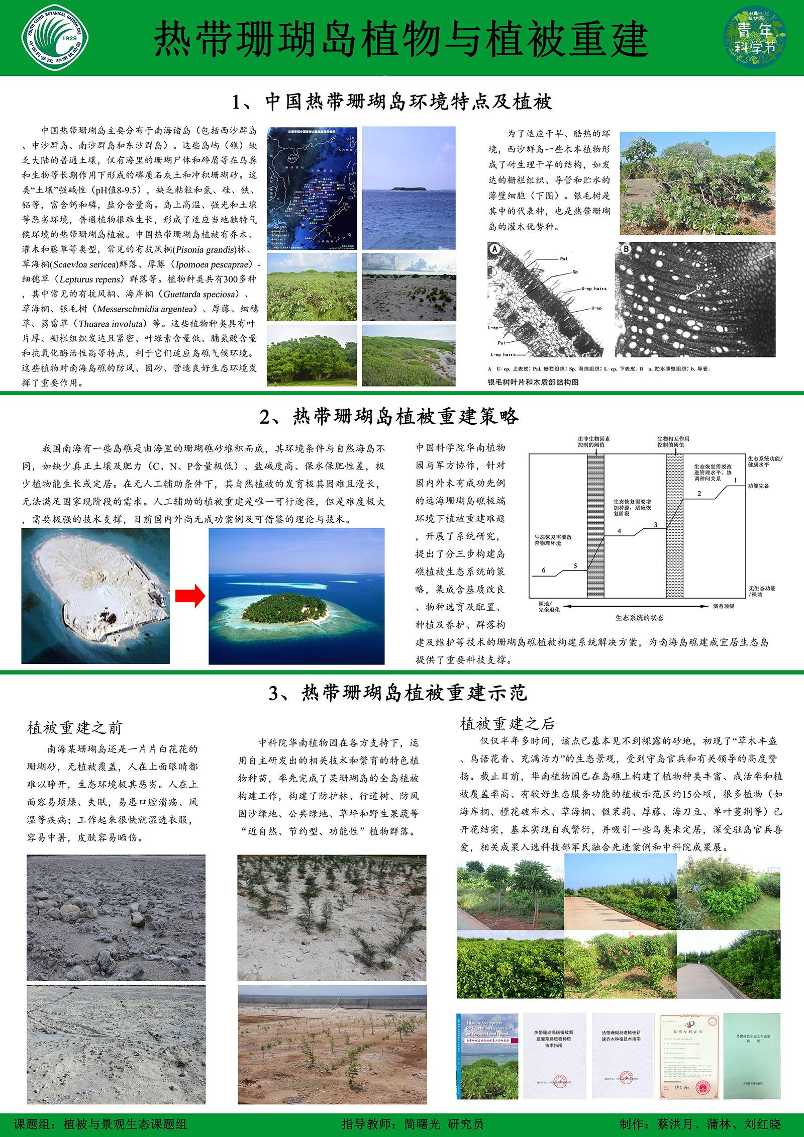 蔡洪月-景观生态-珊瑚岛种子传播