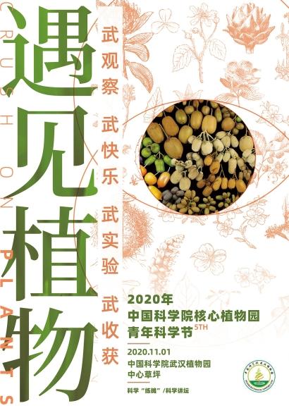 「遇见植物」主题系列海报(武汉主场)